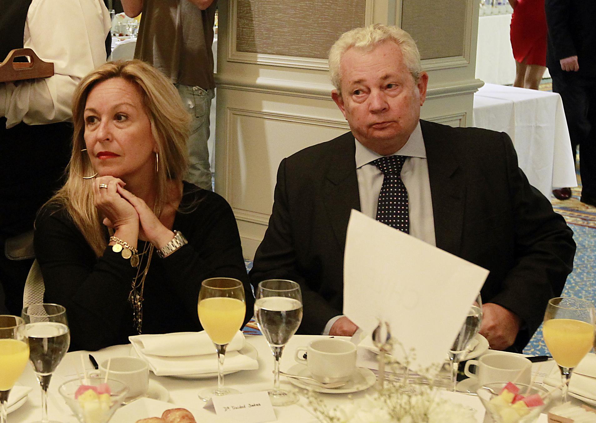 Trinidad Jimenez, ex ministra, y Francisco Marambio, embajador de Chile en España